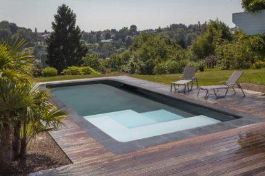 piscine magiline avec escalier plage